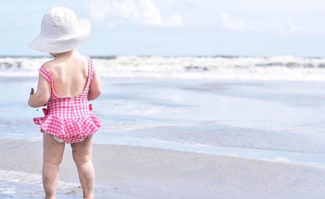 plaża dziecko